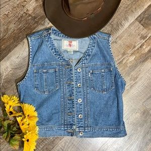 Levi's Denim Women's Cowgirl Vest